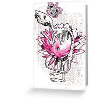 Rat King Greeting Card