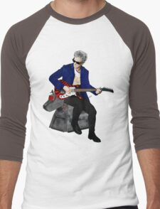 The 12th Doctor and K-9 Men's Baseball ¾ T-Shirt