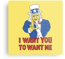 I Want You To Want Me Metal Print