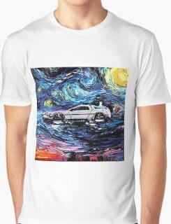 Pop Culture Mashup - Back to Van Gogh  Graphic T-Shirt