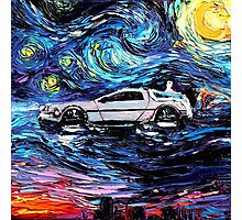 Pop Culture Mashup - Back to Van Gogh  Photographic Print