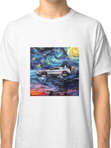 Pop Culture Mashup - Back to Van Gogh  Classic T-Shirt