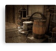 The Old Storefront Canvas Print