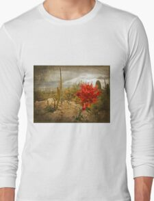 The Bloom of the Octillo Long Sleeve T-Shirt