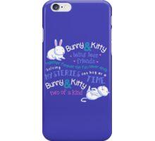 Bunny & Kitty iPhone Case/Skin