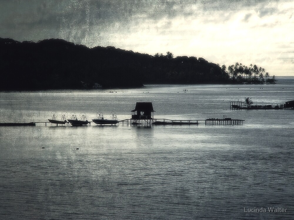 The Pearl Farm at Dusk by Lucinda Walter