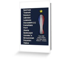 France 1998 World Cup Final Winners Greeting Card
