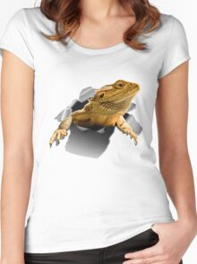 Rippen Lizard Women's Fitted Scoop T-Shirt