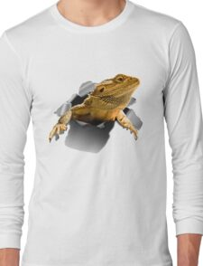 Rippen Lizard Long Sleeve T-Shirt