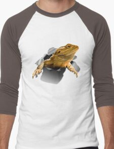 Rippen Lizard Men's Baseball ¾ T-Shirt