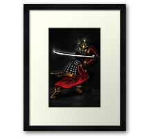 Korean Swordsman Framed Print