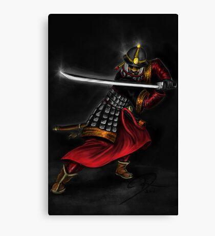 Korean Swordsman Canvas Print