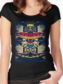 Good Luck Totem Pole  Women's Fitted Scoop T-Shirt