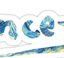 Vincent - Starry Night Sticker