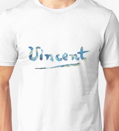 Vincent - Starry Night Unisex T-Shirt