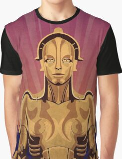 Metropolis Robot Graphic T-Shirt