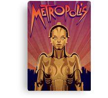 Metropolis Robot Canvas Print
