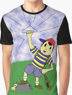 "Earthbound - ""Coat Hanger Ness"" Graphic T-Shirt"