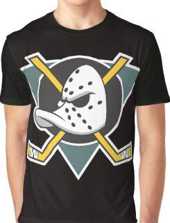 Mighty Ducks of Anaheim Movie NHL Hockey League  Graphic T-Shirt