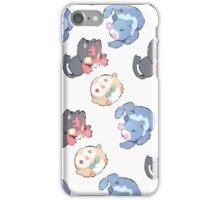 Pokemon    sun and moon starter    Cheebs iPhone Case/Skin
