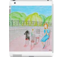 Outdoor cafe iPad Case/Skin
