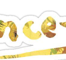 Vincent - Sunflowers Sticker