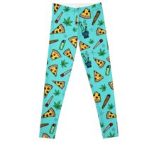 420 Pizza Party Leggings