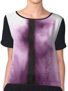 Center of the glowing *void* Chiffon Top