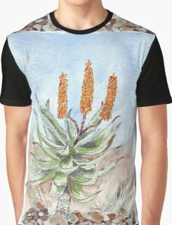 Aloe ferox painting 1 Graphic T-Shirt