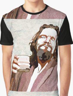 Big Lebowski DUDE Portrait Graphic T-Shirt