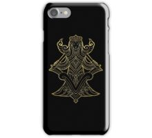 Virgo gold iPhone Case/Skin