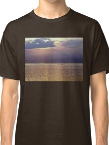 Sunset, Looking towards Vancouver Island Classic T-Shirt