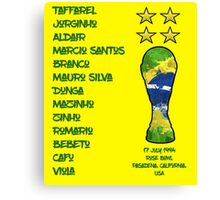 Brazil 1994 World Cup Final Winners Canvas Print