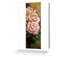 study rose Greeting Card