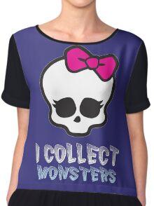 Monster Collector - Monster High Doll Shirt Dark Chiffon Top