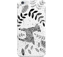 Black & White Forest iPhone Case/Skin