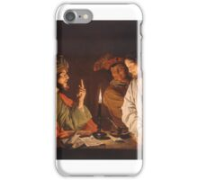 Matthias Stom (Dutch, ca. –after ) Christ Before the High Priest, iPhone Case/Skin