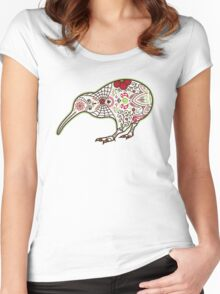 Day of the Kiwi Women's Fitted Scoop T-Shirt