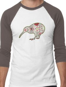 Day of the Kiwi Men's Baseball ¾ T-Shirt