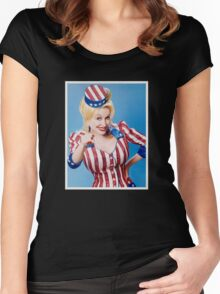 Dolly Parton Women's Fitted Scoop T-Shirt