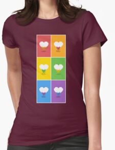 Color Me Loved Womens Fitted T-Shirt