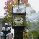 """""""Right on Time""""  (Gastown Steam Clock, Vancouver, BC) by AnnDixon"""