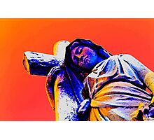 Virgin Mary - Keeping the Faith Photographic Print