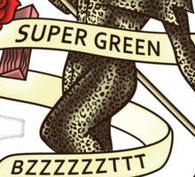 Super Green Sticker