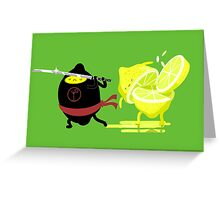 Martini revenge Greeting Card