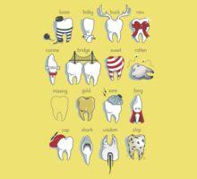 Dental Definitions One Piece - Short Sleeve