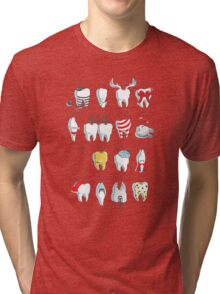 Dental Definitions Tri-blend T-Shirt
