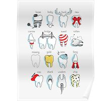 Dental Definitions Poster