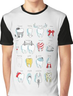 Dental Definitions Graphic T-Shirt