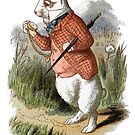 White Rabbit - Alice in Wonderland by pixelspin